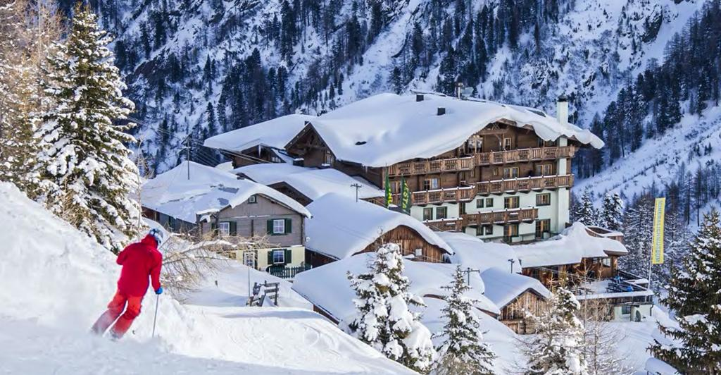 Hotel Silbertal in Sölden – Zimmer, Suiten, Almhütten